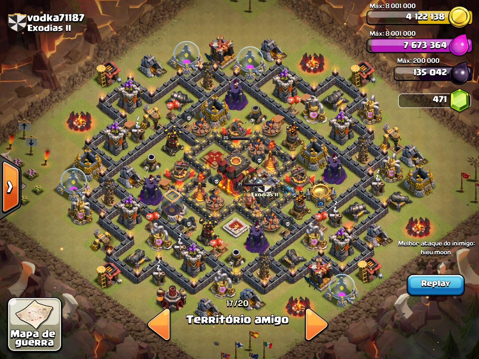 TH10 War Bases