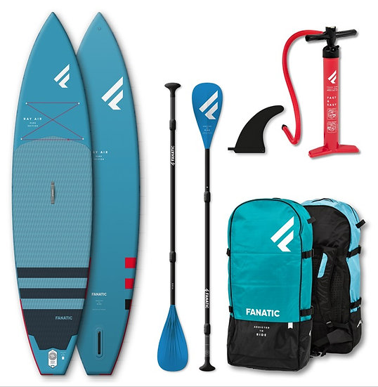 Fanatic SUP Ray Air Package Touring 2021 Aufblasbar