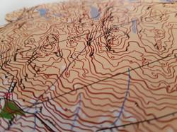 Orienteering and regular maps