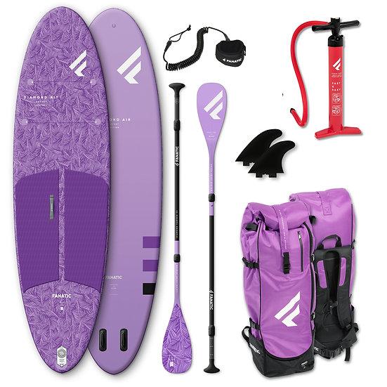 Fanatic SUP - Diamond Air Pocket - 10'4'' - lavender - Package 2021 Fanatic