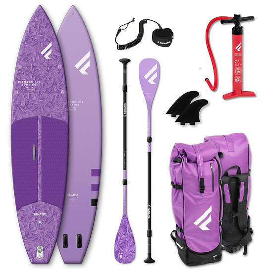Fanatic SUP - Diamond Air Touring Pocket - 11'6'' - lavender - Package 2021