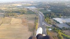 Flying over Frejus, France