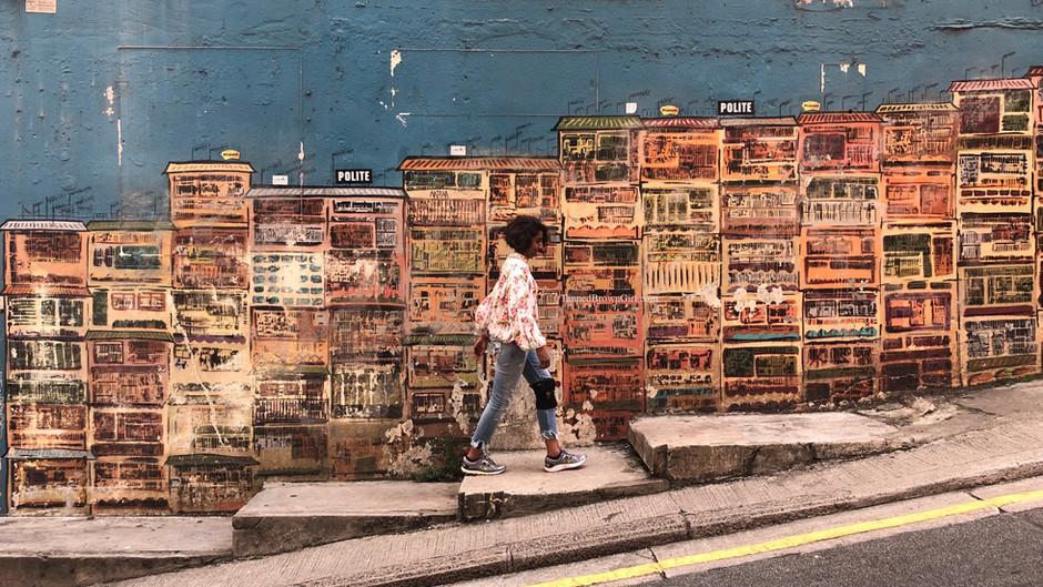 Street Art of Hong Kong