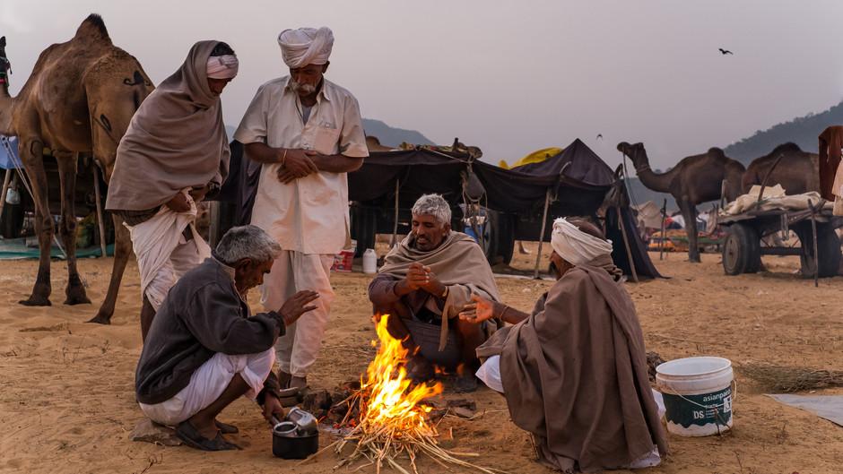 The wife-buyer at Pushkar