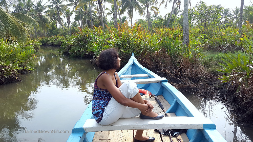 Backwater boat ride in Kakathuruthu
