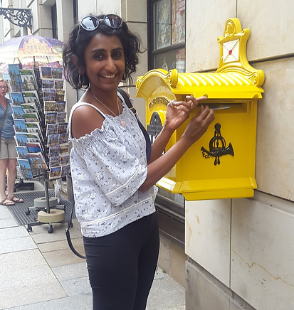 Mailbox in Dresden, Germany