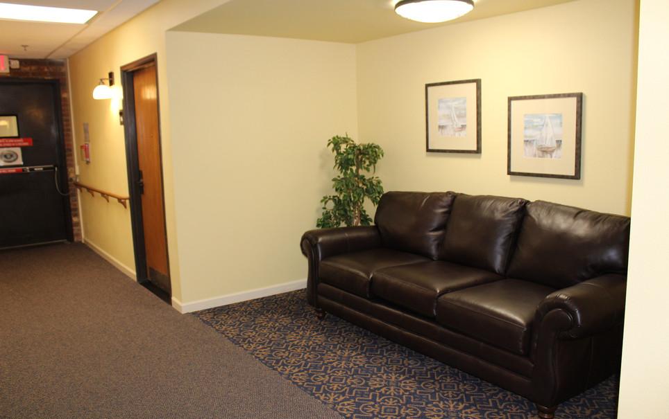 Memory Care Hallway Alcove