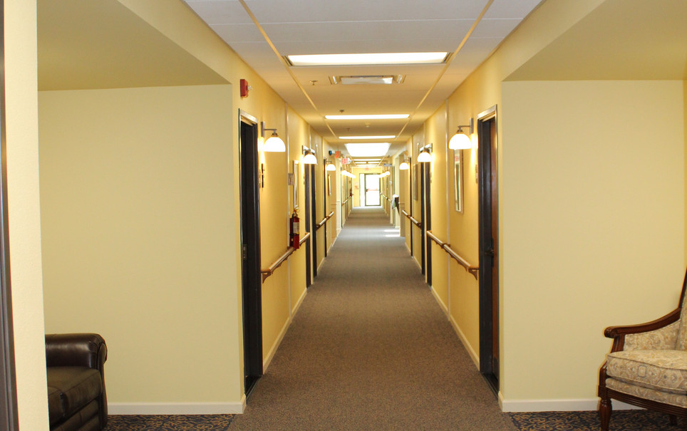 Memory Care Hallway