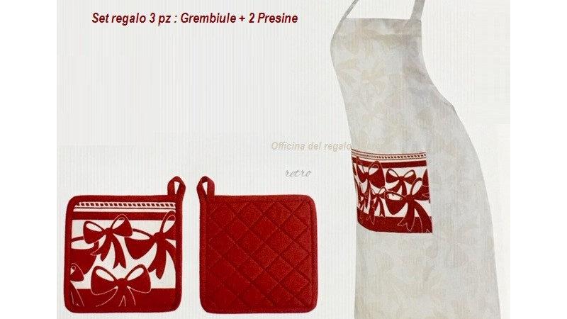 SET GREMBIULE E 2 PRESINE BRANDANI