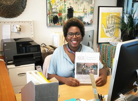Welcome the New Program Assistant: Zenzele!