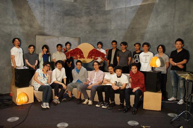 Red Bull Studios Tokyoからの初放送
