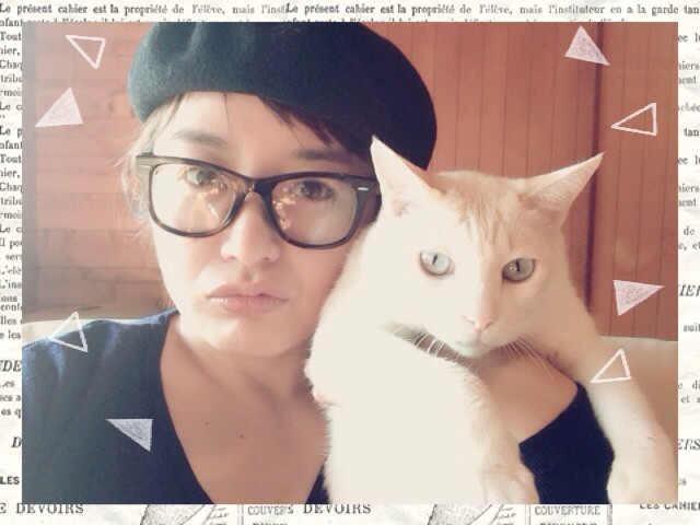 cat and me