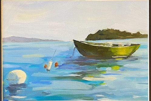 green bait boat-sold