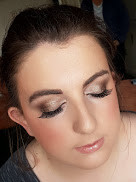 Kerryanne's bridal makeup look.