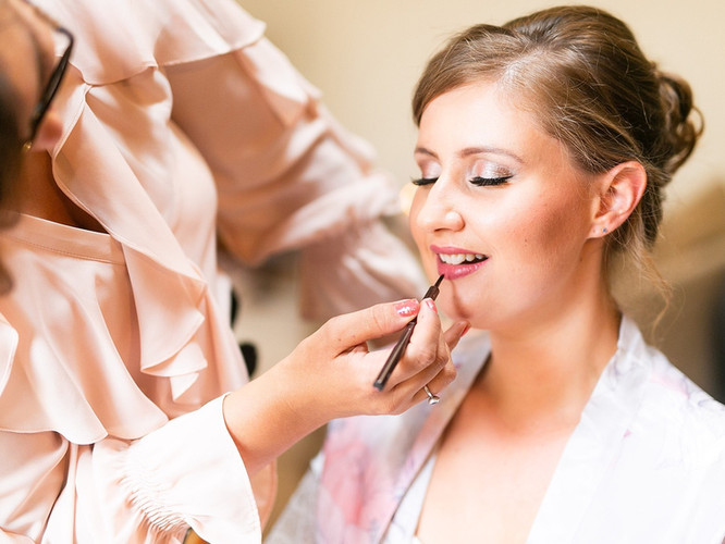 Ruth's Bridal Makeup.