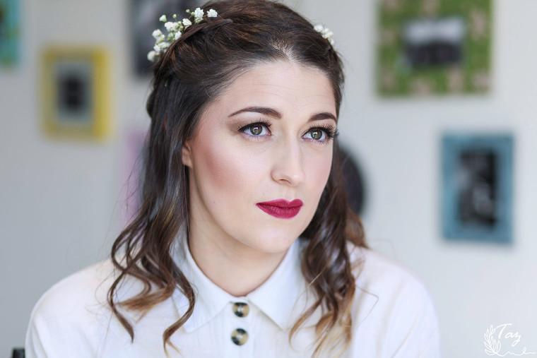 Dreamy Bridal Makeup Photoshoot.