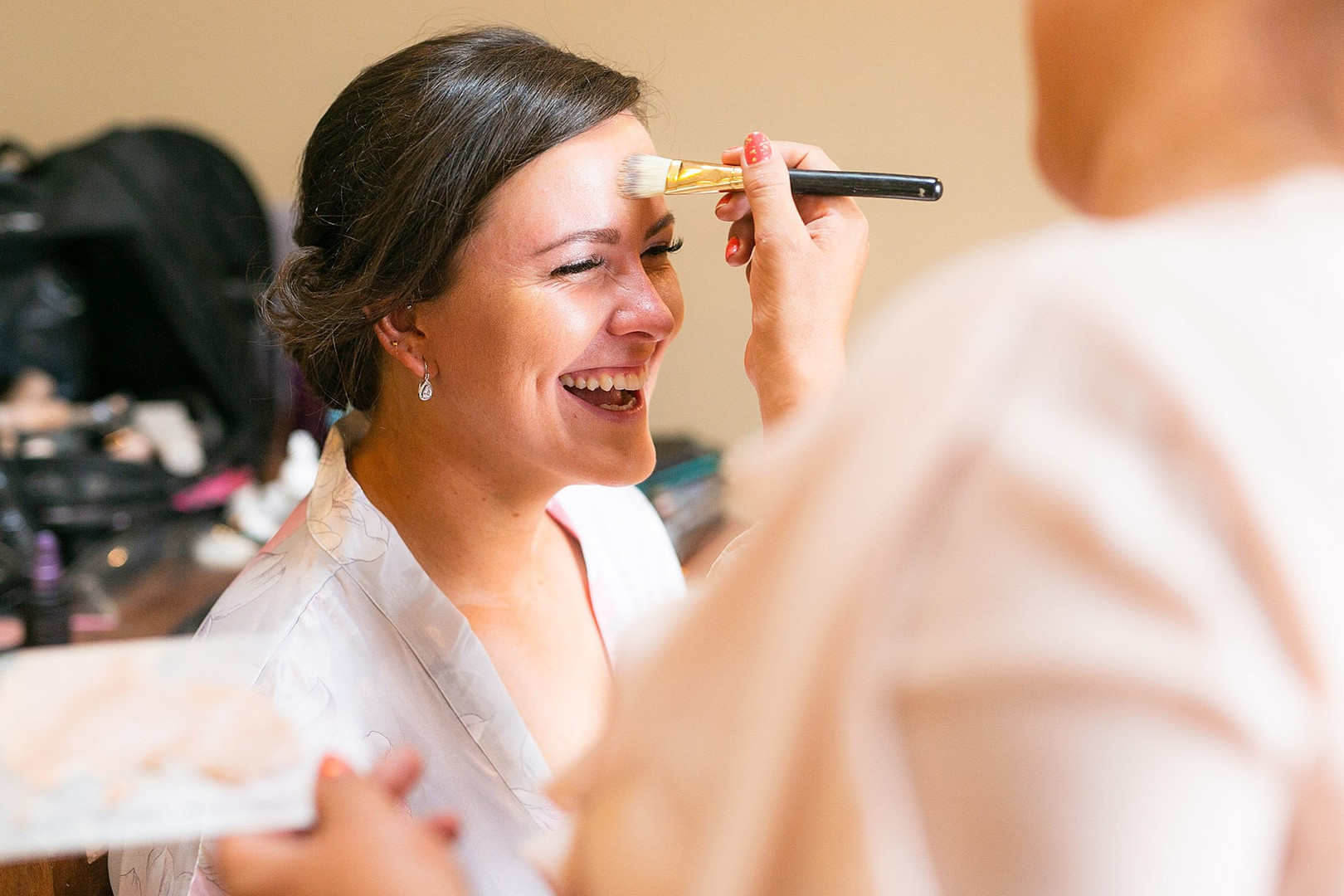 Ruth's Bridal Party Makeup.