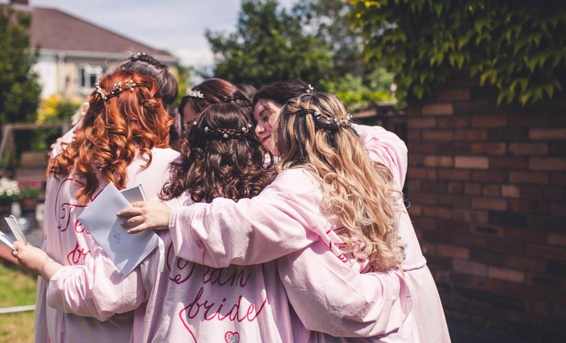 Anna's Bridal Party Hair.
