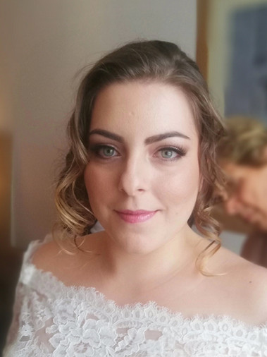 Alessia on her wedding day.