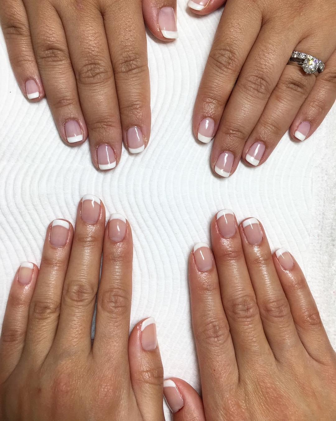 French / Colour Gel polish