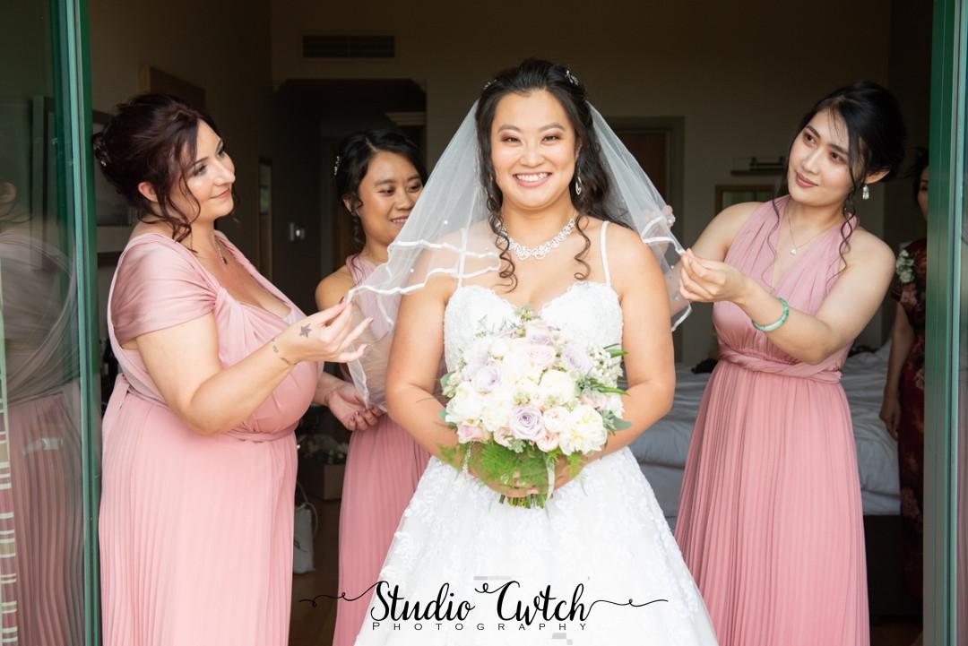 Na's wedding day