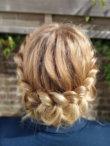 Donna's Bridesmaid Hair