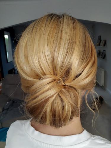Jennifer's Bridal Hair