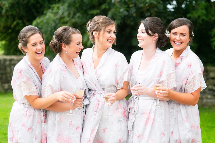Ruth & her bridal party