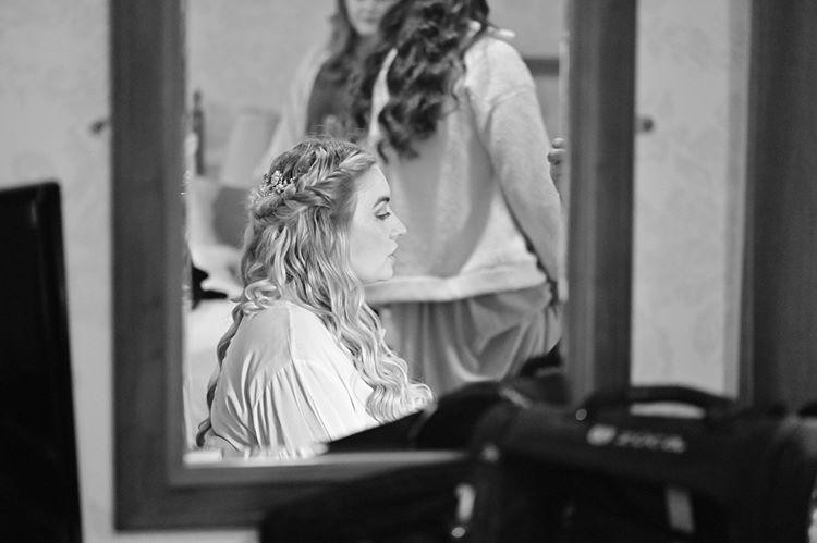 Kiera's Wedding Day Hair & Makeup