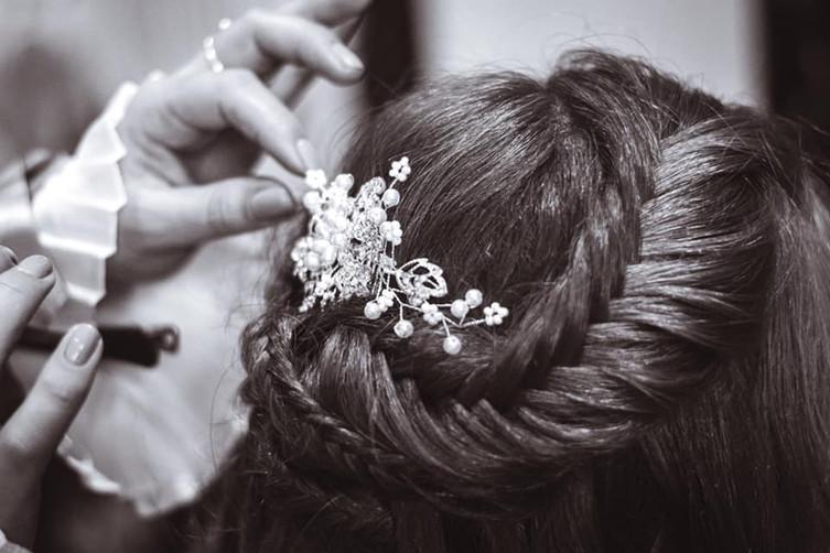 Lauren's Bridal Hair