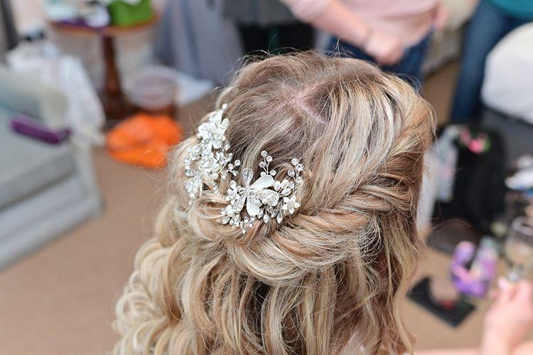 Kiera's Wedding Day Fishtail Braided HairStyle