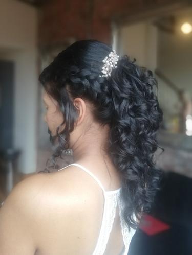 Perpetua's bridal hair.