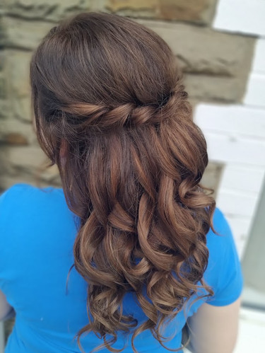 Engagement Party Hair
