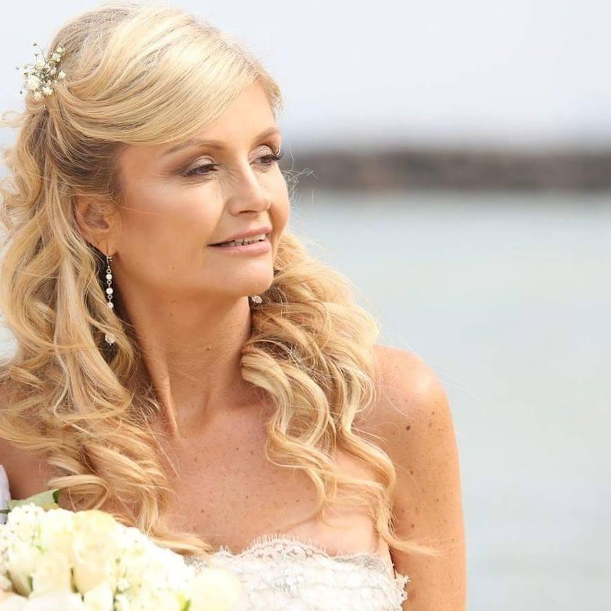 Nicole on her wedding day.