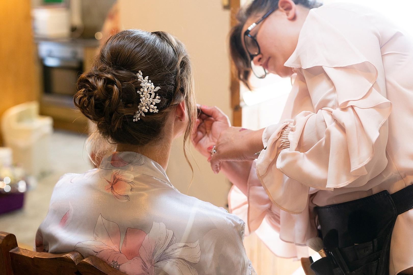 Ruth's Bridal Hair & Makeup.