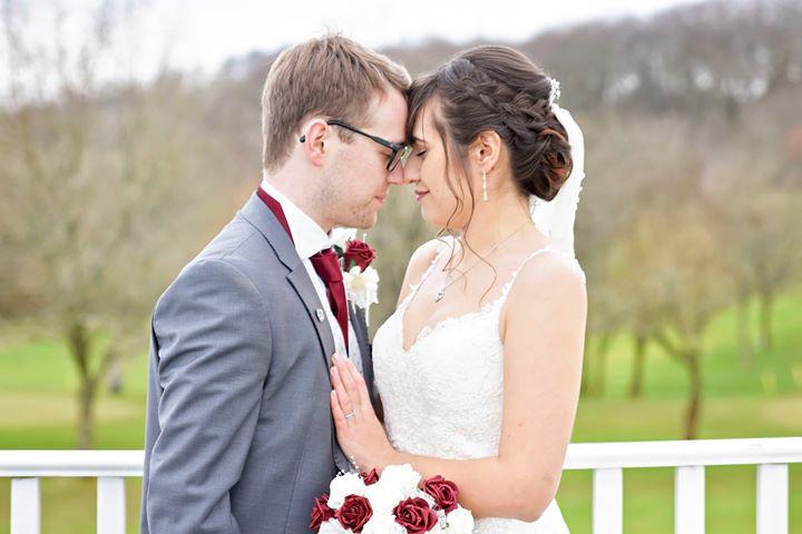 Keelys's Braided Bridal Updo