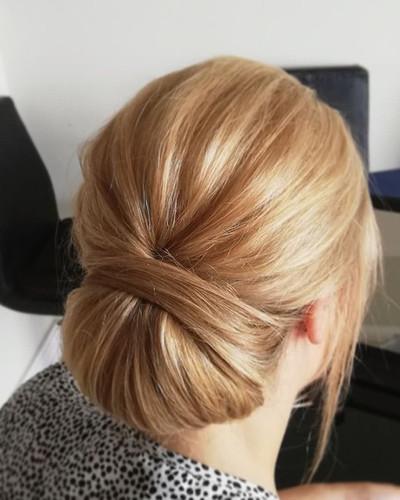 classic hair with a modern twist