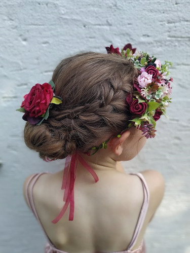 Flower Girl Forest Wedding Hair