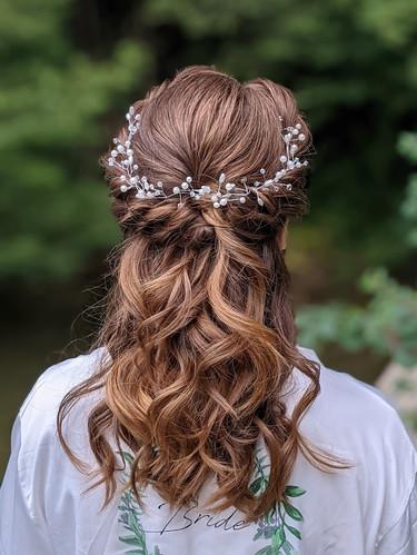 Amy's Bridal Hair