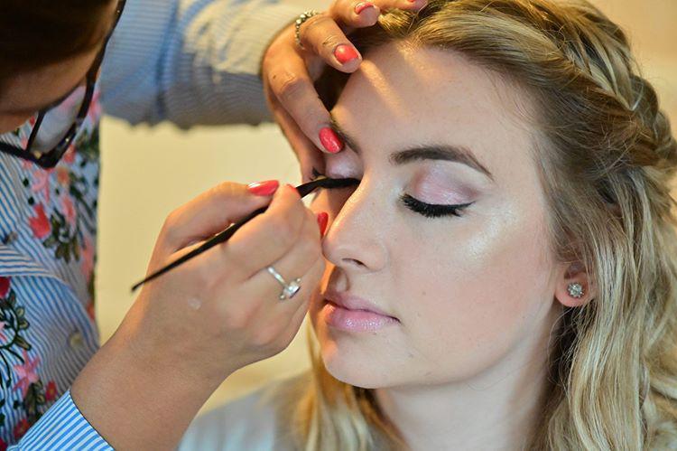 Kiera's Wedding Day Makeup
