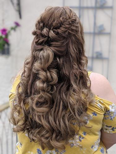 Bridal Boho Hair