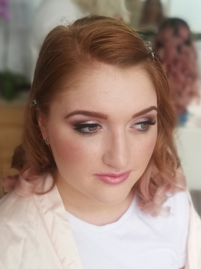 Bridesmaid Makeup.