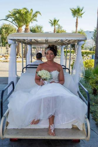 A Greek wedding for Bride Jo & her husband Simon.
