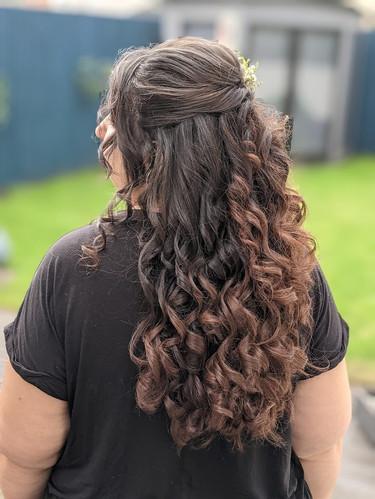 Bizzy's Bridesmaids Hair