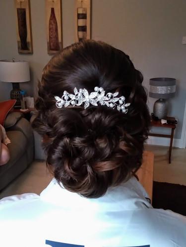 Keeley's Bridal Hair.