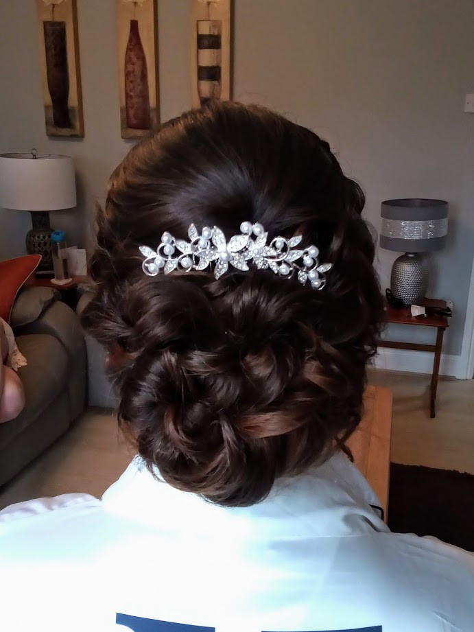 Keeley's Bridal Hair.