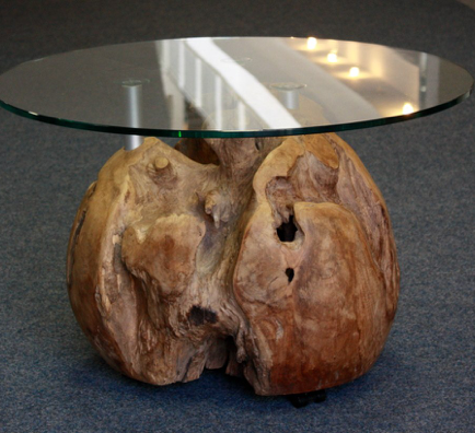 Teakholz Tisch