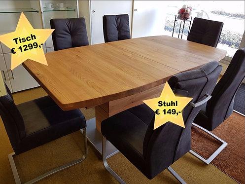 Bootsform Tisch Corato B