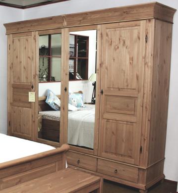 Schlafzimmermöbel Kiefer massiv