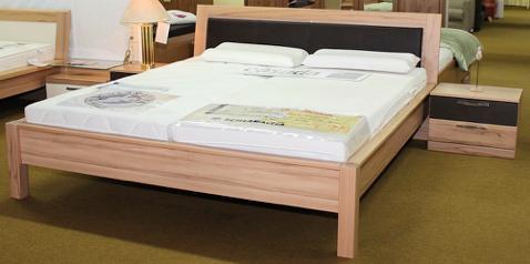 Schlafzimmer Kernbuche/ Mocca